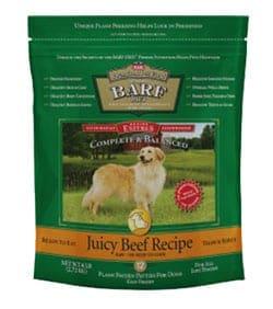 BARF dog food bag