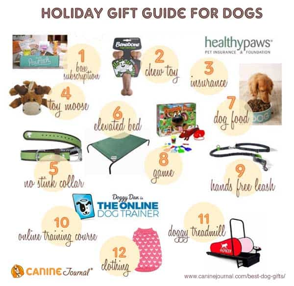 12 top dog gifts