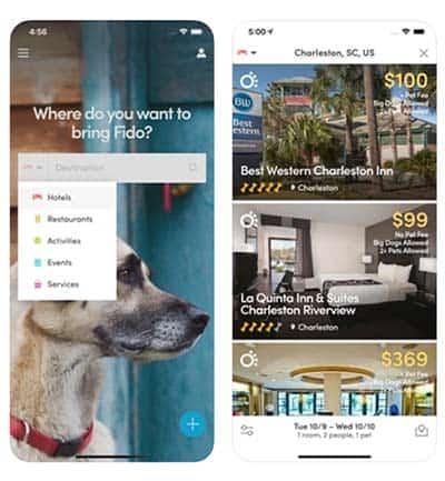 BringFido App screenshots