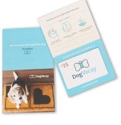 Dog Vacay gift card