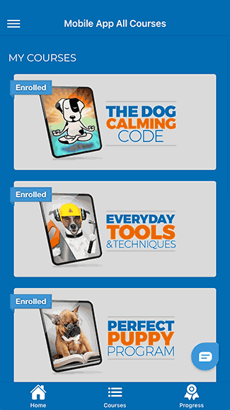 Doggy Dan's Online Dog Training Course Mobile App