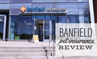 Banfield hospital storefront (caption: Banfield Pet Insurance Plan Reviews)