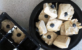 Peanut Butter And Yogurt Frozen Dog Treats