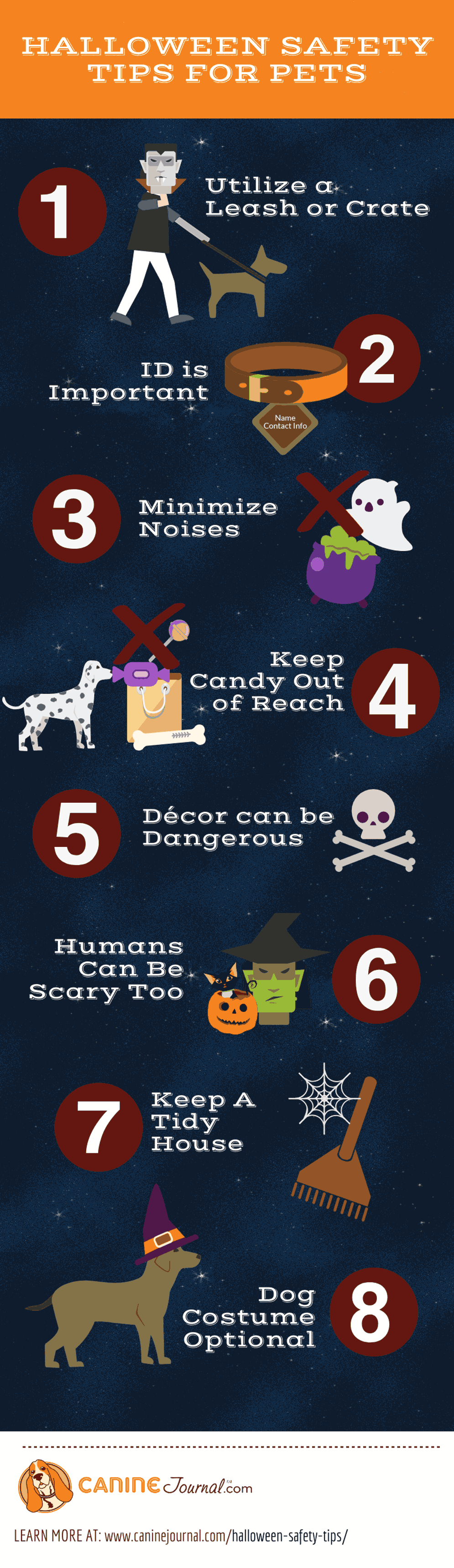 8 Halloween Safety Tips for Pets