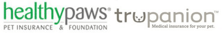 Healthy Paws & Trupanion logos