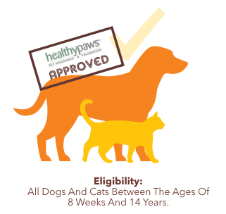 Is My Dog Eligible For Healthy Paws graphic