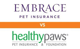 Embrace vs Healthy Paws