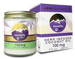 HempMy Pet Hemp-Infused Coconut Oil