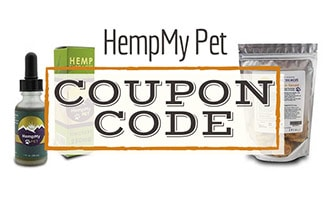 HempMy Pet CBD Oil & Treats (Caption: HempMy Pet Coupon Code)