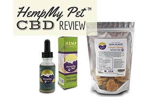 HempMy Pet oil and treats (Caption: HempMy Pet Review)