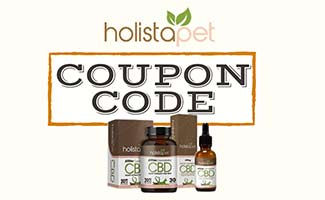 HolistaPet products (caption: HolistaPet Coupon Code)