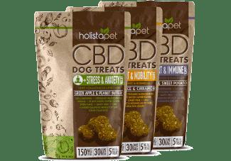 3 bags of HolistaPet CBD Dog Treats