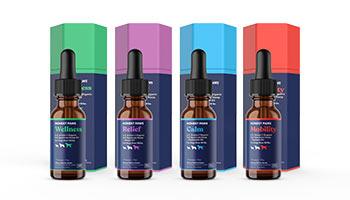 Honest Paws CBD-infused dog oils