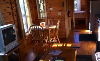 Honey Hill Cabin Interior, Asheville, NC