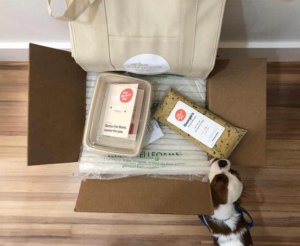 Inside Farmer's Dog Box