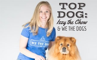 Izzy The Chow And Amber Of We The Dogs DC