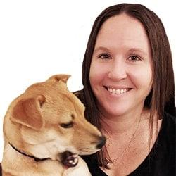 Julie Fritz with dodg