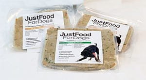 JustFoodForDogs packaging