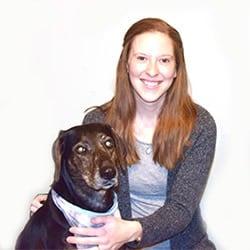 KimberlyAlt and Sally dog