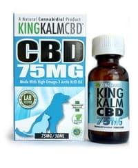 King Kanine King Kalm CBD Oil 75 mg