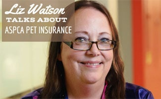 Liz Watson headshot (caption: Liz Watson Talks About ASPCA Pet Insurance)