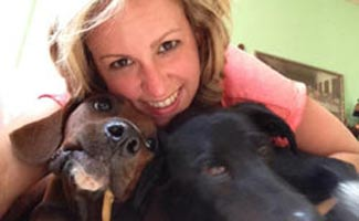 Morgan Thomas and Dogs