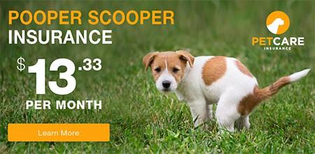 Pet Care Insurance Pooper Scooper Insurance Ad