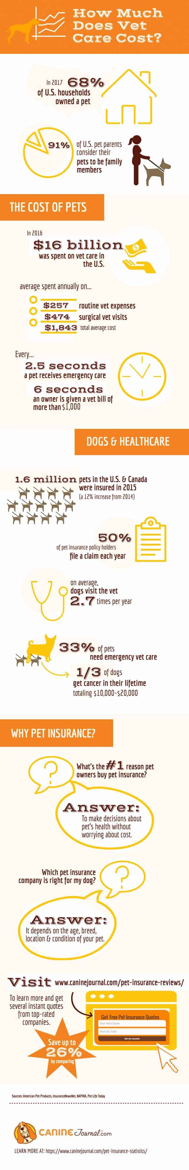 How Much Does Vet Care Cost?