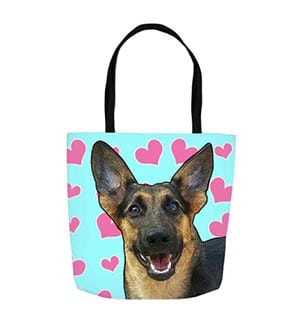 Pet Inkery Dog Canvas Tote