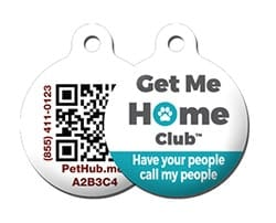 PetHub ID Tag with QR code