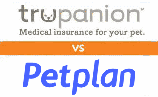 Trupanion vs Petplan logos