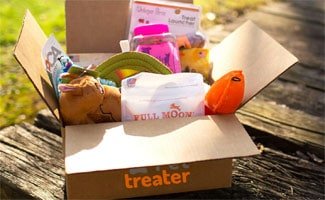 Pet Treater box