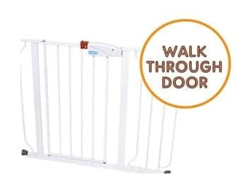 Walk through gate: Regalo Easy Step Walk Thru Gate
