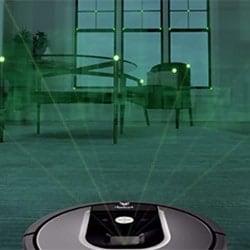 vSLAM simulation for robot vacuum
