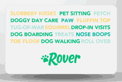 Rover gift card
