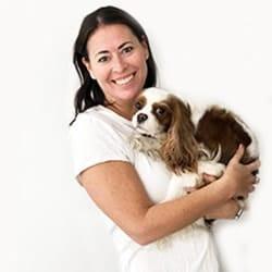 Sadie Cornelius and Lexie dog