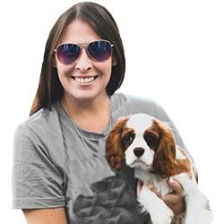 Sadie and Georgie dog