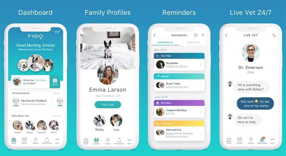 Figo App Screenshots