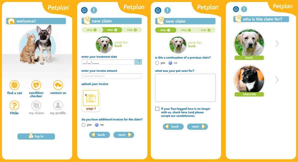 Petplan App Screenshots