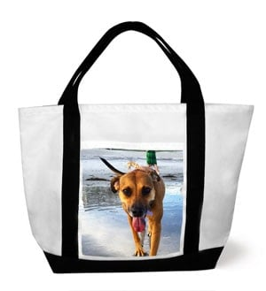 Snapfish personalized dog tote