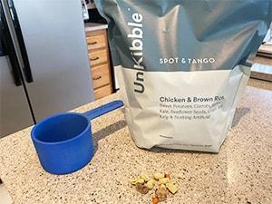 Spot & Tango's UnKibble bag and scoop