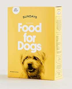 Box of Sundays For Dog Food