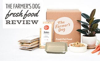 Farmer's dog packaging (caption: The Farmer's Dog Review)