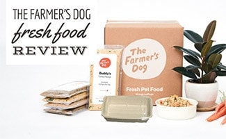The Farmer's Dog food packaging (caption: The Farmer's Dog Fresh Food Review)