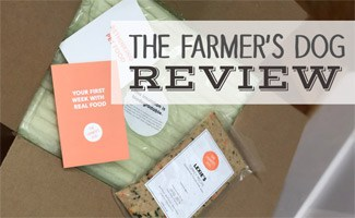 The Farmer's Dog box and contents