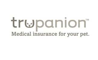 Trupanion logo: medical insurance for your pet
