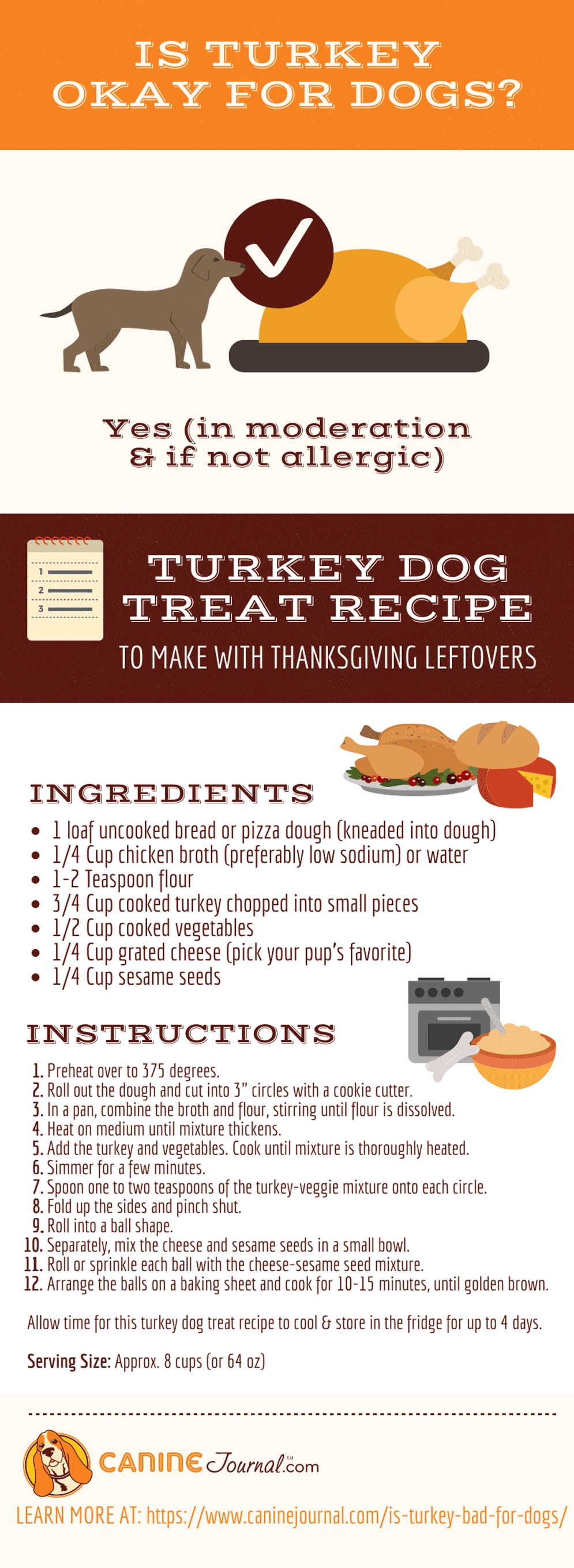 Can Dogs Eat Turkey Infographic