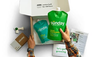 Sunday Lawn Care unboxing